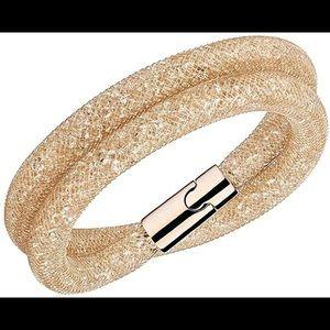 Swarovski Gold Crystal Dust Bracelet